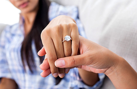 טבעת יהלום, צילום: שאטרסטוק