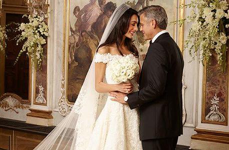 ג'ורג' קלוני ואמאל אלמודין בחתונתם