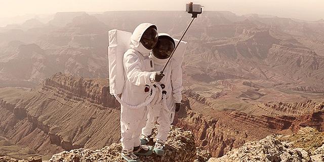 החופשה שלי במאדים: סלפי מעולם אחר