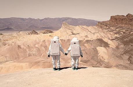 אולי יש מאגרי גז במאדים?