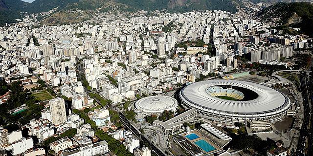 אצטדיון המארקנה בריו. המדינה בקשיים, צילום: אימג