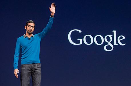 """סנדר פיצ'אי סונדר פיצ'אי מנכ""""ל גוגל 1, צילום: בלומברג"""