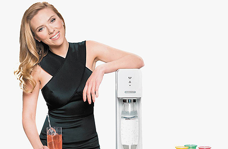 סקרלט ג'והנסון ב פרסומת ל סודהסטרים