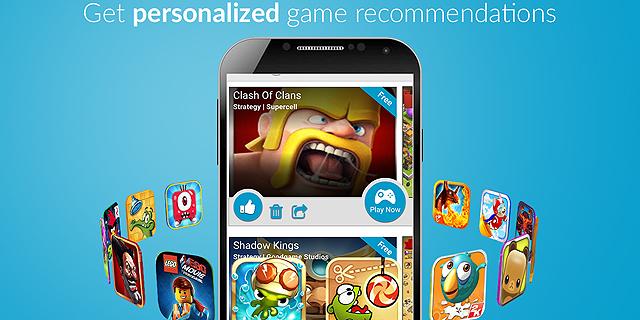 GameOn Project: המלצות משחקים לסמארטפון