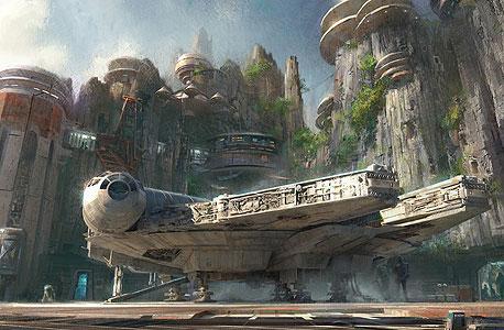 פארק מלחמת הכוכבים דיסני פלורידה קליפורניה 3, איור: disney