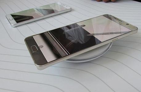סמסונג גלקסי S6 Edge Plus E18, צילום: עומר כביר