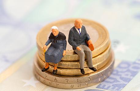 פנסיה זקנים, צילום: שאטרסטוק