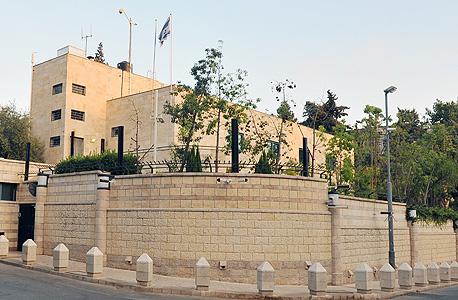 מעון ראש הממשלה ברחוב בלפור בירושלים, צילום: גיא אסיאג