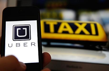 מונית מוניות אובר Uber שיתוף, צילום: yahoo