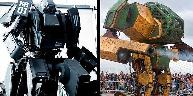 """ארה""""ב נגד יפן: בואו לממן את קרב הרובוטים הענקיים"""