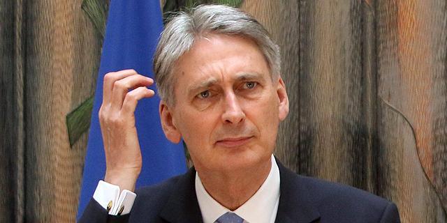 פיליפ המונד, שר החוץ של בריטניה , צילום: אי פי איי