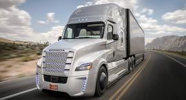 משאית ללא נהג של דיימלר, צילום: אתר החברה