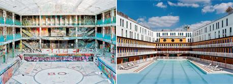 מלון מוליטור לפני ואחרי השיפוץ , צילום: צילום: Thomas Jorion