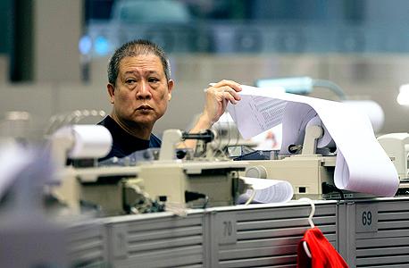 בורסת הונג קונג, צילום: אי פי איי