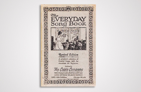 """כריכת החוברת מ־1922, שעשויה לשחרר לציבור את הזכויות של השיר """"יום הולדת שמח"""""""