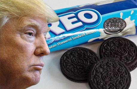 דונלד טראמפ עוגיות אוראו, צילום: רויטרס