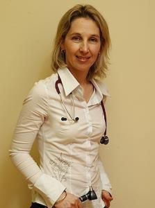רונית לובצקי. רופאה