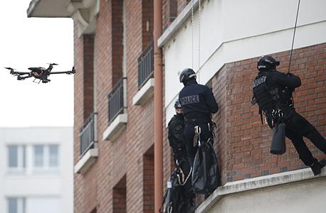רחפן המסייע לכוחות משטרה