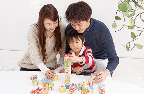 משפחה יפנית. מסתפקים בילד אחד