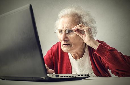 קשישים בפער טכנולוגי, צילום: שאטרסטוק