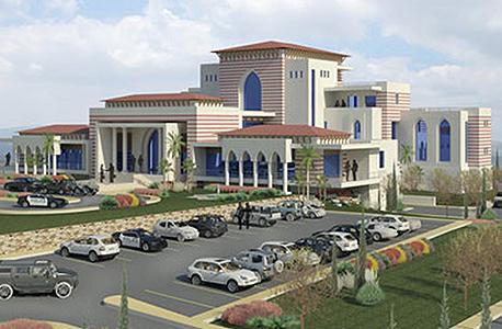 הארמון של אבו מאזן ברמאללה. הדמיה