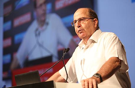הוועידה הלאומית 2015 משה בוגי יעלון שר הביטחון 1, צילום: נמרוד גליקמן