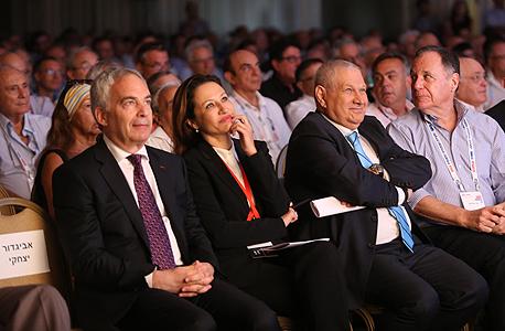 הוועידה הלאומית 2015 משמאל ארז ויגודמן גלית חמי דוד ברודט ו דני גילרמן, צילום: נמרוד גליקמן
