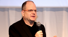 הוועידה הלאומית 2015 גיל שויד מייסד צ'ק פוינט, צילום: נמרוד גליקמן