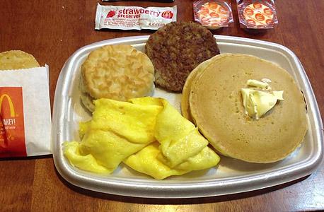 מקדונלד'ס ארוחת בוקר, צילום: youtube