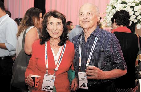 יוסי וצביה גרוס, צילום: אוראל כהן