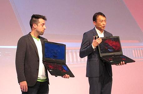 מחשבי הגיימרים החדשים של החברה , צילום: עומר כביר