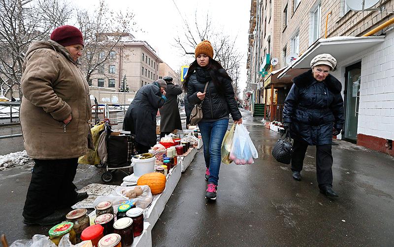 מוסקבה. אין שום רצון לרצות את המבקרים, צילום: אי פי איי