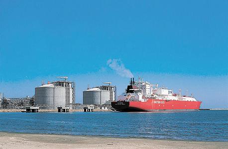 מתקן הגז מול חופי מצרים. ההערכות היו שמרניות