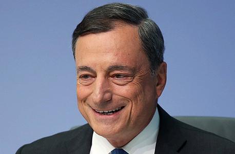 מריו דראגי נשיא הבנק האירופי המרכזי
