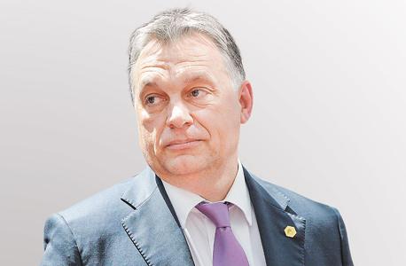 ראש ממשלת הונגריה, ויקטור אורבן. להשאיר את הראש מעל המים