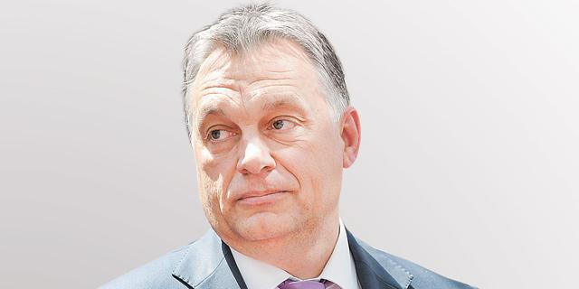 ראש ממשלת הונגריה, ויקטור אורבן. להשאיר את הראש מעל המים, צילום: אי פי איי
