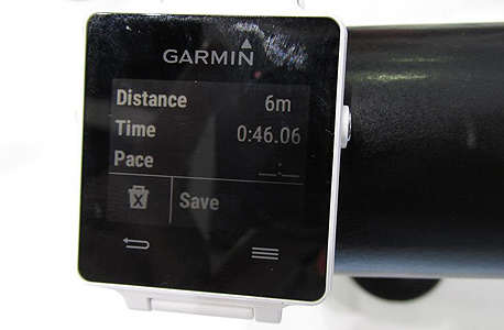 שעון חכם של גרמין, צילום: עומר כביר