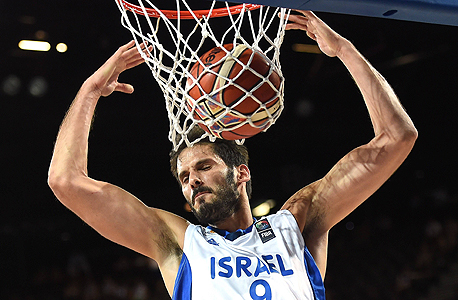 Golden State Warriors player Omri Casspi in Israel
