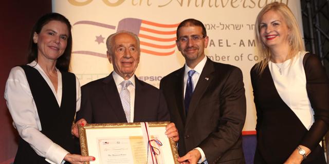 """בת""""א חגגו הערב 30 שנים להסכם הסחר החופשי בין ישראל לארה״ב"""