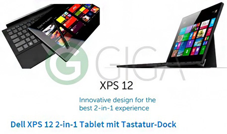 Dell XPS 12 טאבלט
