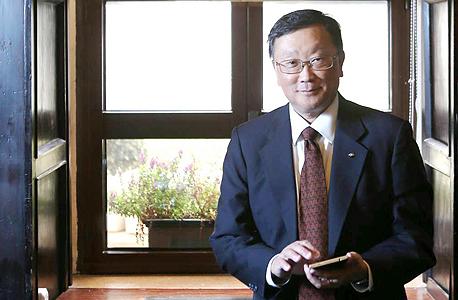 Blackberry CEO John Chen. Photo: Photo: Alex Kolomvisky