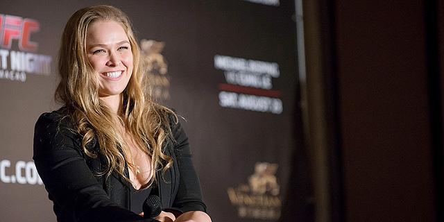 רונדה ראוזי. שיא הקהל בקרב UFC , צילום: אימג