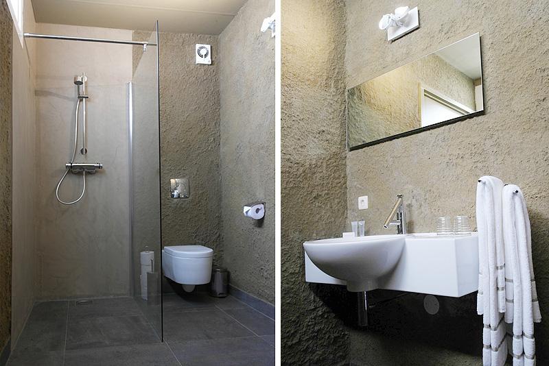 חדר אמבטיה בסוויטת החול