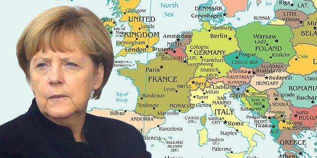 קנצלרית גרמניה אנגלה מרקל נבחרה לאשת השנה של 'טיים'
