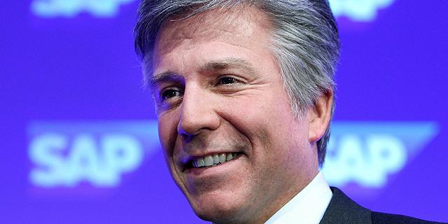 """ביל מקדרמוט מנכ""""ל SAP, צילום: איי אף פי"""