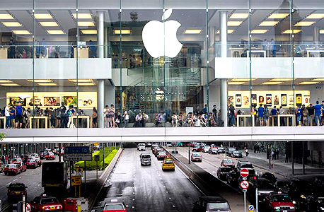 חנות אפל ב סין, צילום: בלומברג
