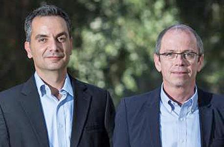 השותפים המנהלים בקרן סקיי. מימין: צבי יוכמן וניר דגן
