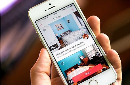 דירות להשכרה באפליקציית Airbnb