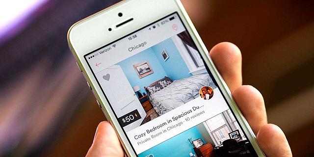 אפליקציית Airbnb