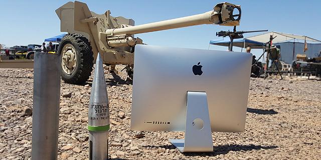 מחשב iMac, ראש בראש עם תותח נגד טנקים